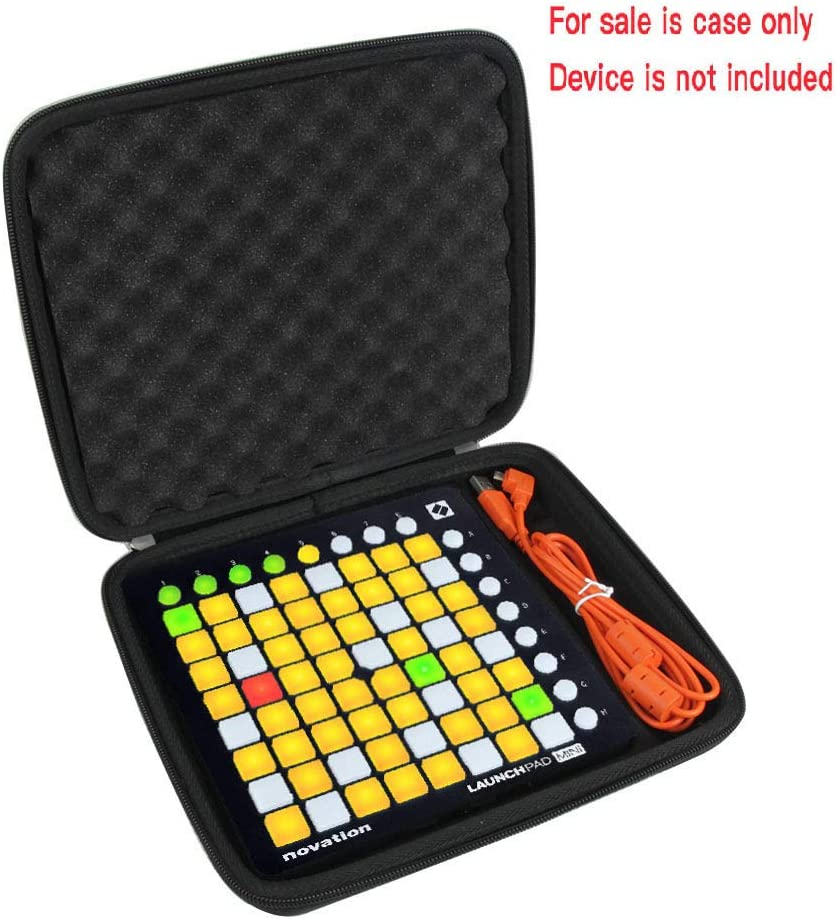 Amazon Com Hermitshell Travel Case For Novation Launchpad Controller Case For Launchpad Mini Mk2 Musical Instruments