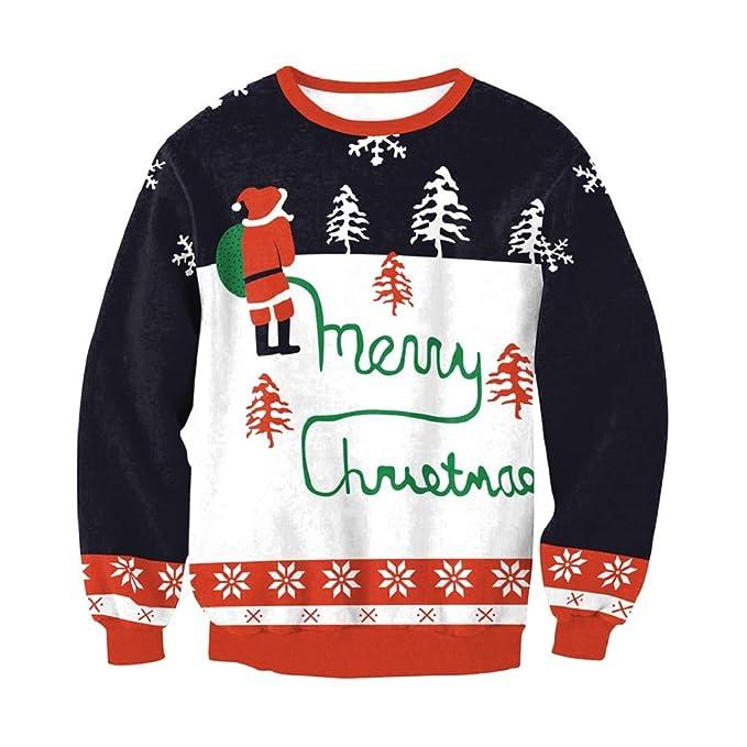 Soupliebe Damen Christmas Printed Hoodies Sweatshirt Weihnachten Damen Tops  Jumper Pullover Kapuzen Langarmshirt Sweatjacke Kapuzenpullover  Amazon.de   ... dd07042861