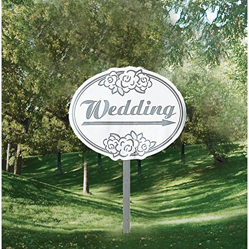 Fun Express - Cardboard Wedding Yard Sign -