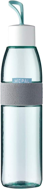 Mepal – Botella Ellipse Nordic Green – 700 ml – también para bebidas gaseosas – Material irrompible – antigoteo – Apto para lavavajillas