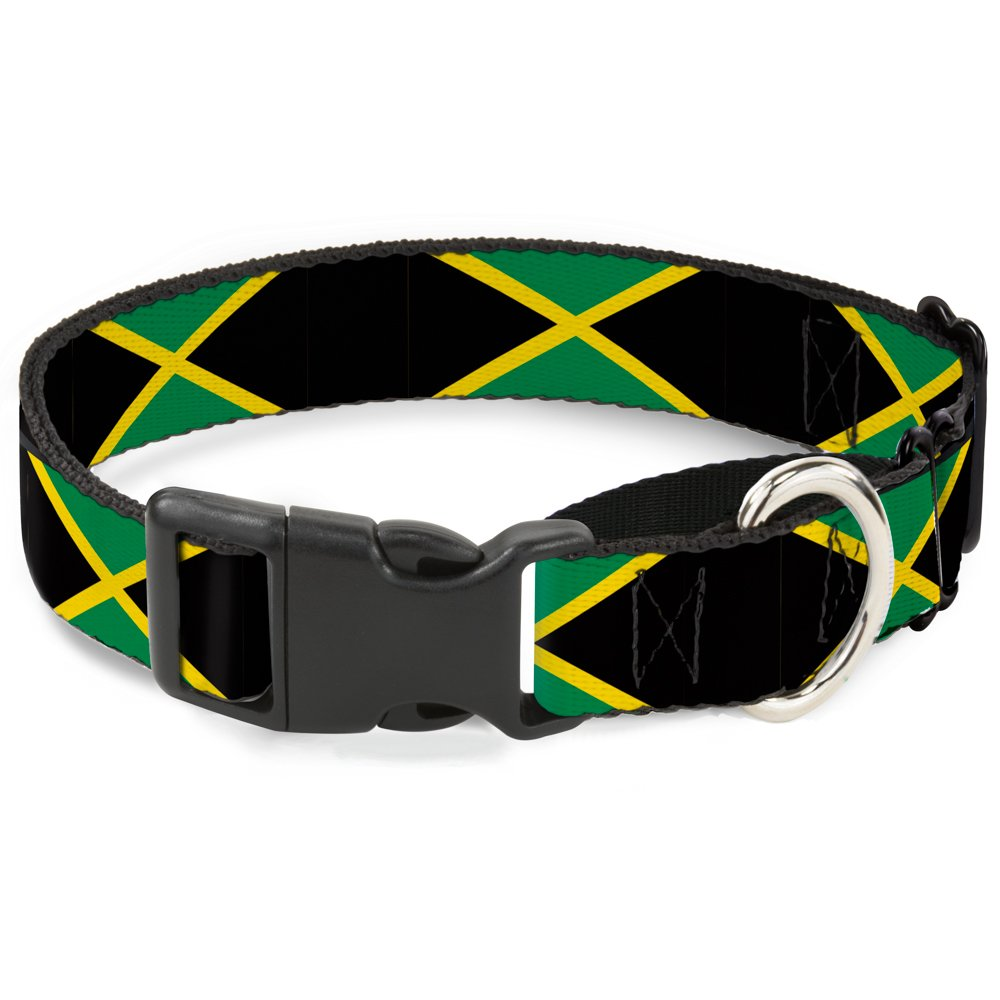 Buckle-Down MGC-W31002-S Jamaica Flags Martingale Dog Collar, Small