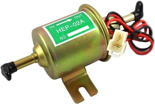 New Gas Diesel Inline Low Pressure Electric Fuel Pump 12V