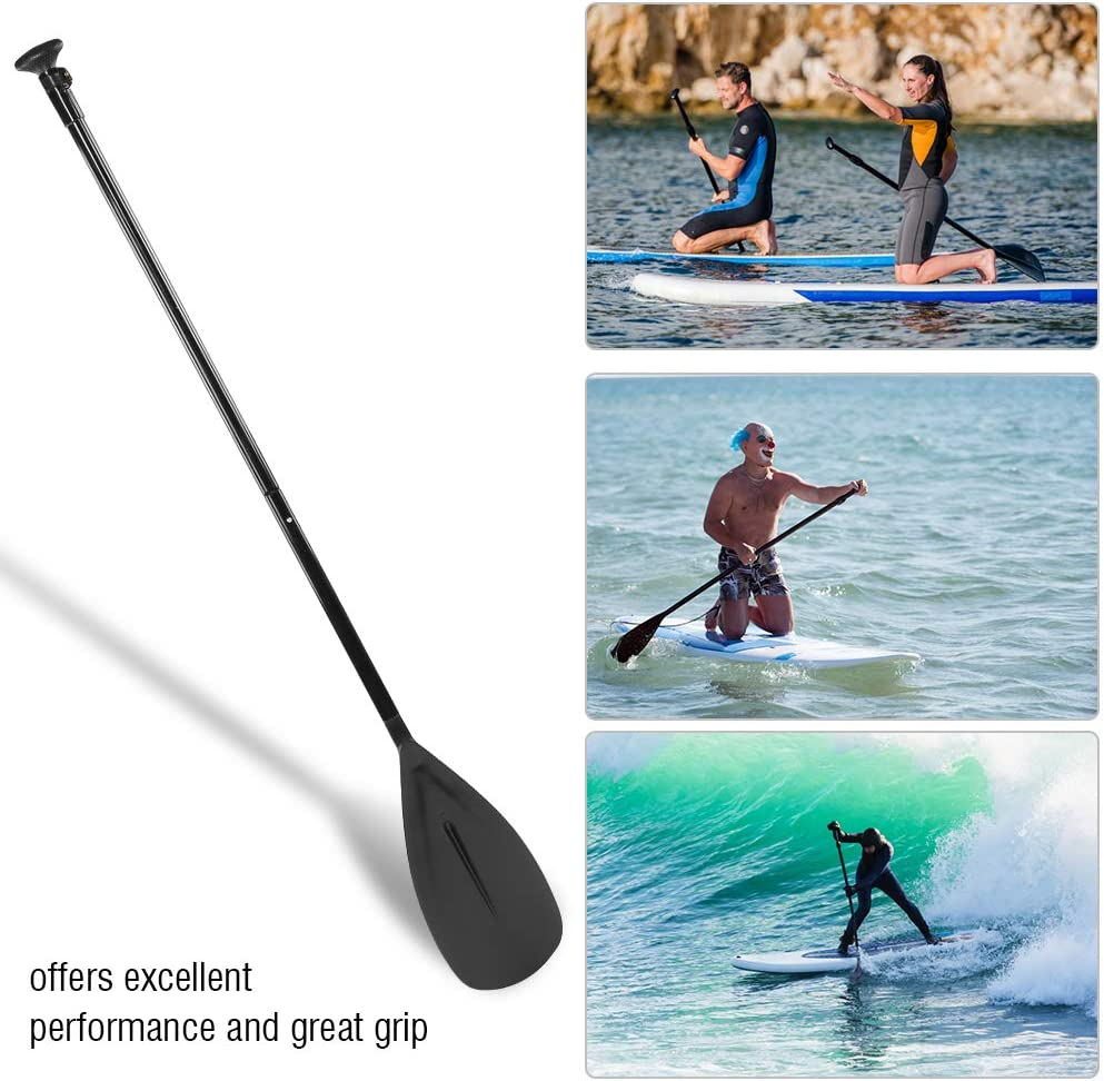 Cocoarm Sup Board Paddle Gonflable en Aluminium 163cm-215 cm r/églable Paddle Kayak Paddle Kayak Paddle Set pour Kayak et Surf