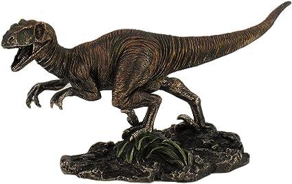 Muy Detallada Dinosaurio Velociraptor De Bronce Estatua Pintado A Mano Acentos Raptor Amazon Es Hogar Los dinosaurios son un grupo de saurópsidos que aparecieron durante el período triásico. muy detallada dinosaurio velociraptor de bronce estatua pintado a mano acentos raptor