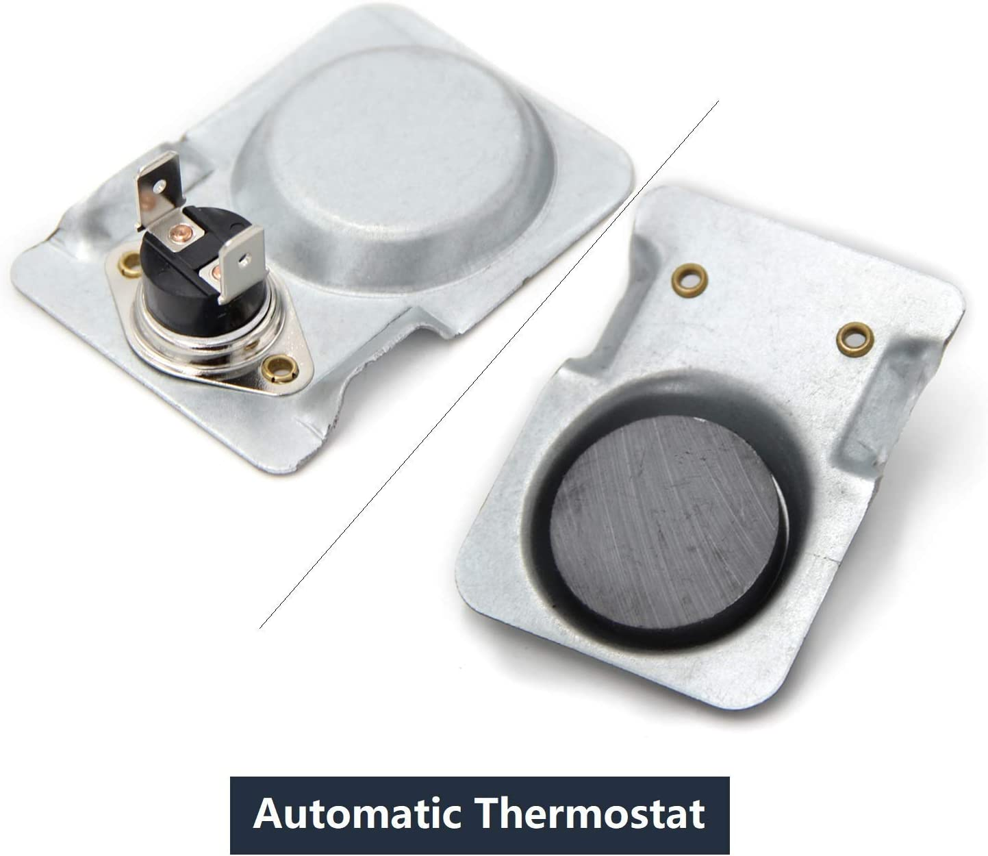 Off at 90F Approx Magnetic Temperature Switch ON at 120F BBQ-Element Magnetic Thermostat Switch for Fireplace Fan//Fireplace Blower kit