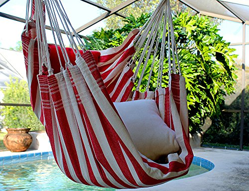 Strawberry Shortcake – Fine Cotton Hammock Chair, Made in Brazil