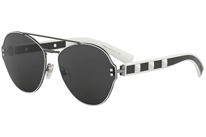 Gafas de Sol Valentino VA 2025 RUTHENIUM WHITE BLACK/GREY ...