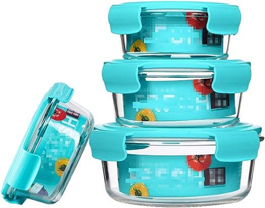 LINGLING Control de Porciones de cristal de comidas de preparación ...