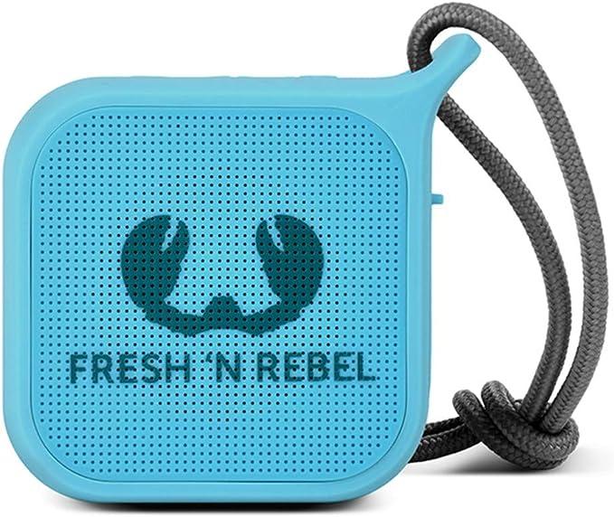Fresh N Rebel Rockbox Pebble Sky Kabelloser Bluetooth Lautsprecher Audio Hifi