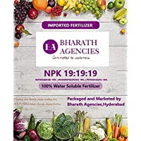 Bharath Agencies Water Soluble NPK 19-19-19 Fertilizer for Potted and Gardening Plant (1000 g)