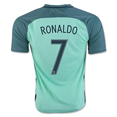 2016 2017 Uefa Euro Cup Portugal 7 Cristiano Ronaldo Away National