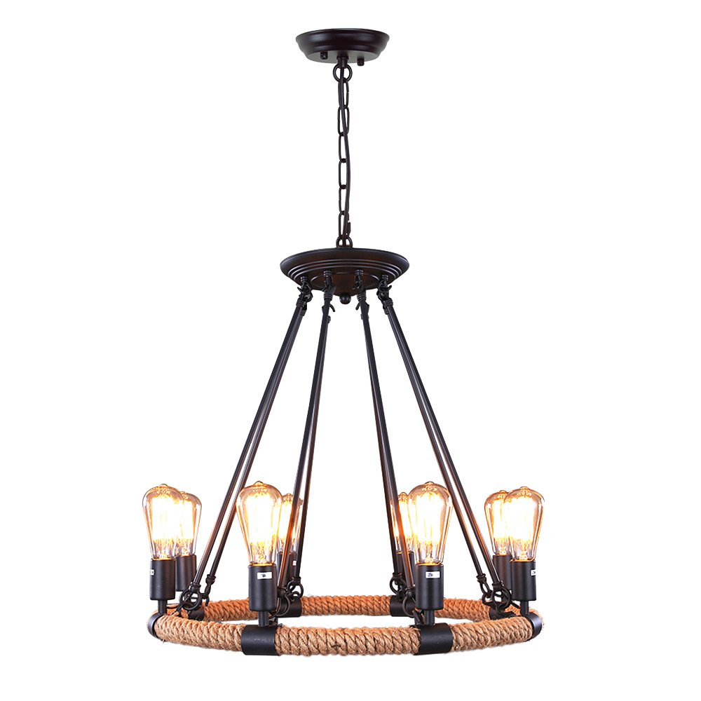 Farmhouse Chandeliers For Dining Room: LNC Farmhouse Chandelier For Dining Rooms Ceiling Light