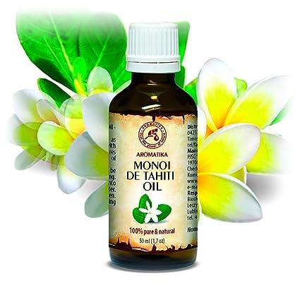 Aceite de Monoi de Tahiti 50ml - Aceite de Cocos Nucifera - Francia - 100%