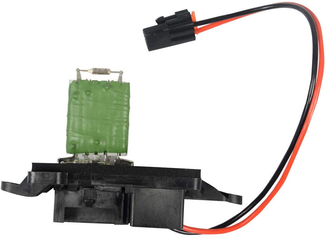 Cadillac Escalade Suburban GMC Sierra SFY HVAC Blower Motor Resistor Complete Kit With Harness-Replaces 15-81086 Avalanche Yukon Tahoe 22807123 for Chevy Silverado