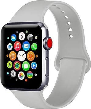 ATUP Correa Compatible con para Apple Watch Correa 38mm 42mm 40mm 44mm, Correa de Repuesto de