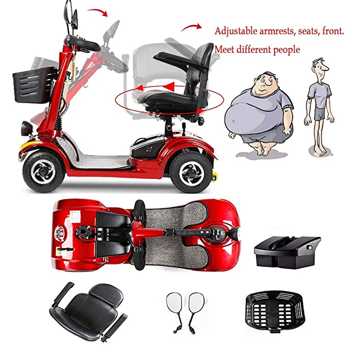 Moto Para Personas Mayores,scooter Electrico Plegable ...
