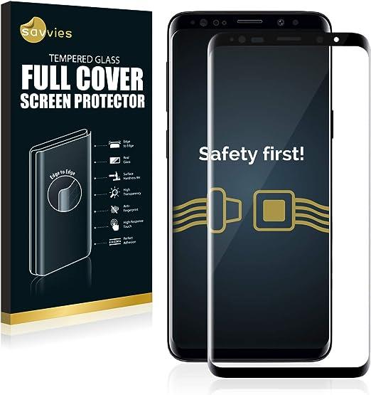 Savvies Full Cover Panzerglas Kompatibel Mit Samsung Elektronik
