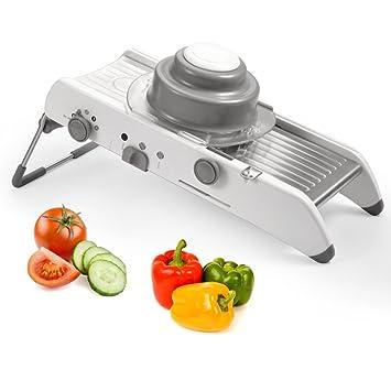 Great Verstellbarer Mandoline   Mandoline Slicer, Gemüsehobel, Gemüsereibe,  Kartoffelschneider, Gemüseschneider Und Multischneider Mit