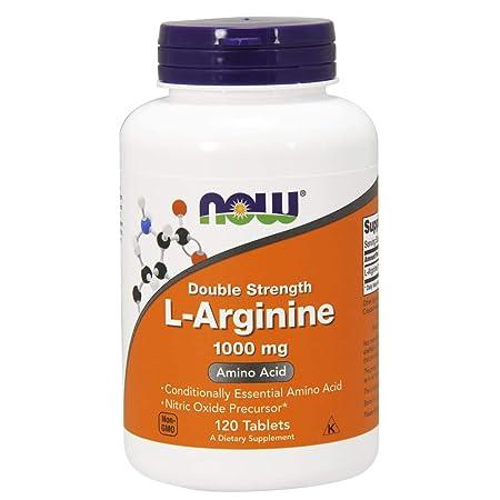 NOW Supplements, L-Arginine 1000 mg, 120 Tablets