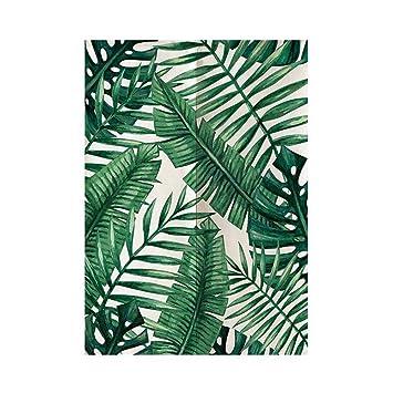 Planta Verde Estilo 9 85x150cm SK Studio Japon/és Noren Puerta Cortina Panel de Tapicer/ía Habitaci/ón Divisor Home Decoratio