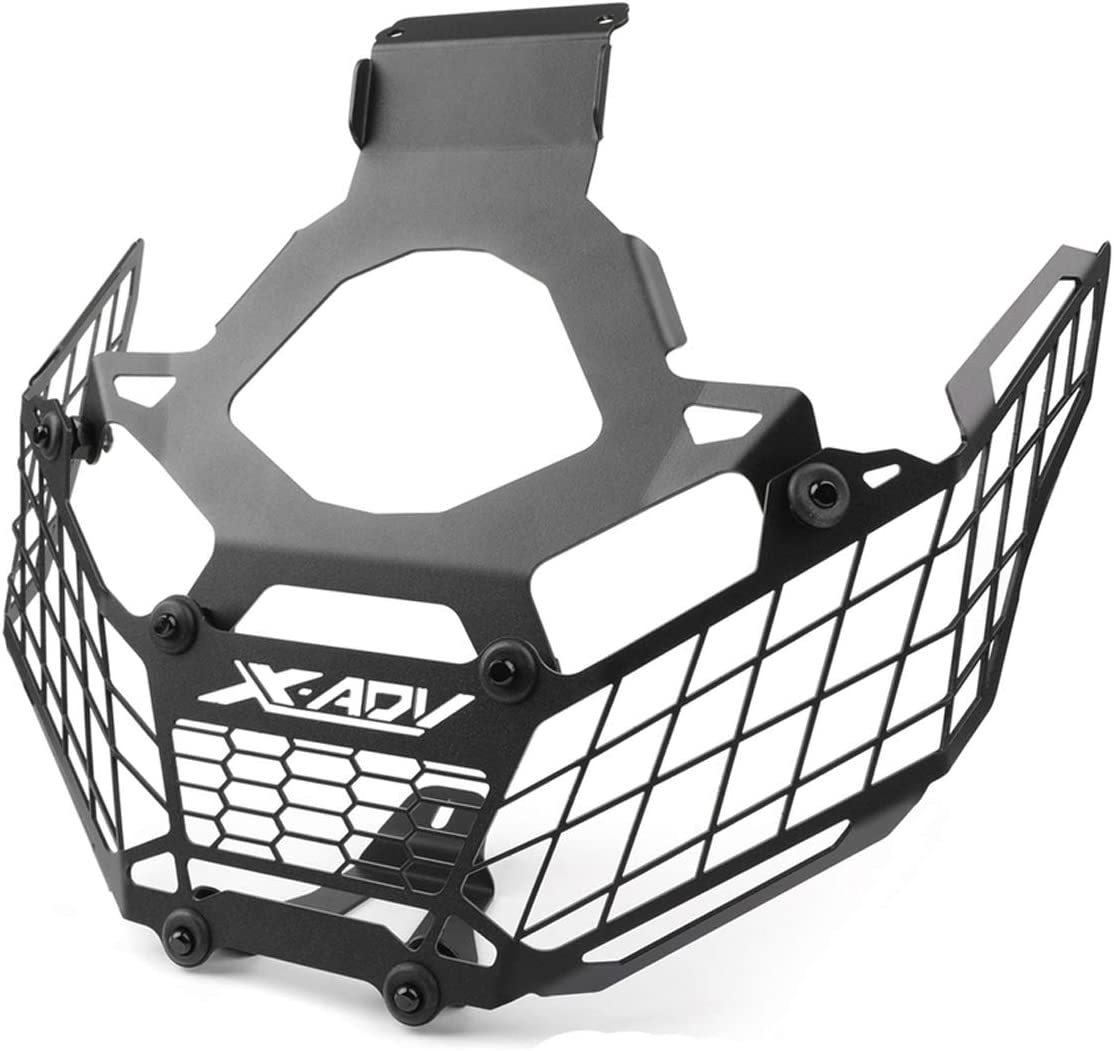 Color : Black LIWIN Moto Accesorios For Honda Xadv750 300//1000 X-ADV Xadv 2017-2019 Modificaci/ón Faro Grille protector de la cubierta del protector