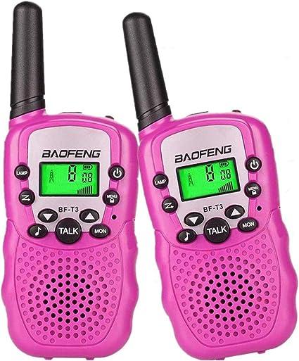 2x Twin Walkie Talkie UHF462-467MHZ 2-Way Radio 22 Channel Interphone 3Km Range