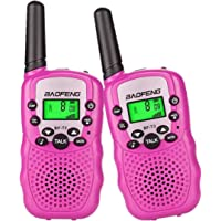 Walkie Talkies for Kids Boys Girls Child Handheld Walkie Talkie Toys 22 Channel FRS/GMRS Two-Way Radio Transceiver for Kids & Youth, Outdoor Radios (Pack of 2 Radio ) Blue