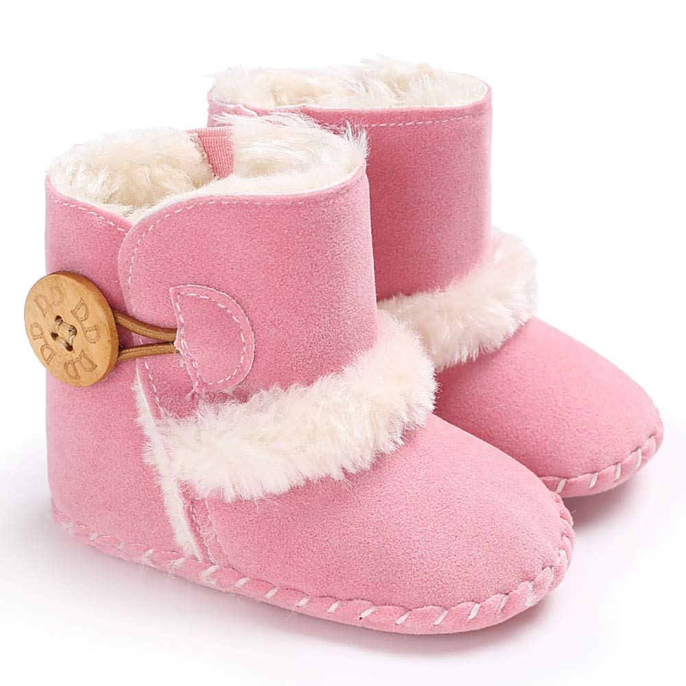 Ollily Winter Warm Baby Boots Prewalker Newborn Infant Boy Girl Crib Shoes Snow Boots