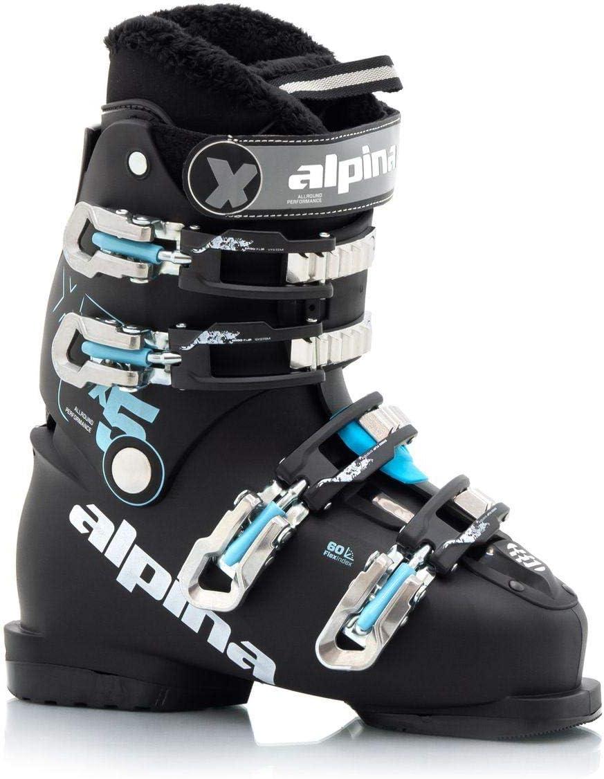 Alpina Sports X5 Transparent Alpine Downhill Ski Boots