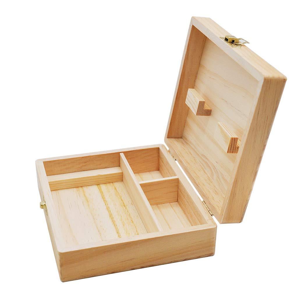 TAOtTAO Stash Box en Bois pour Organiser Vos Accessoires