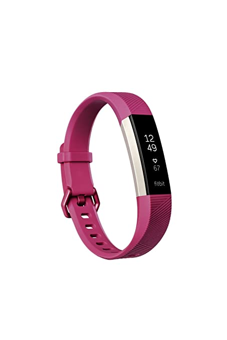 Fitbit Alta HR, Fuchsia, Small (US Version)