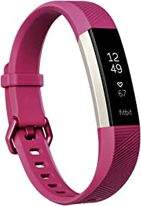 Fitbit- Alta HR, Fuchsia, Grande (US Version)