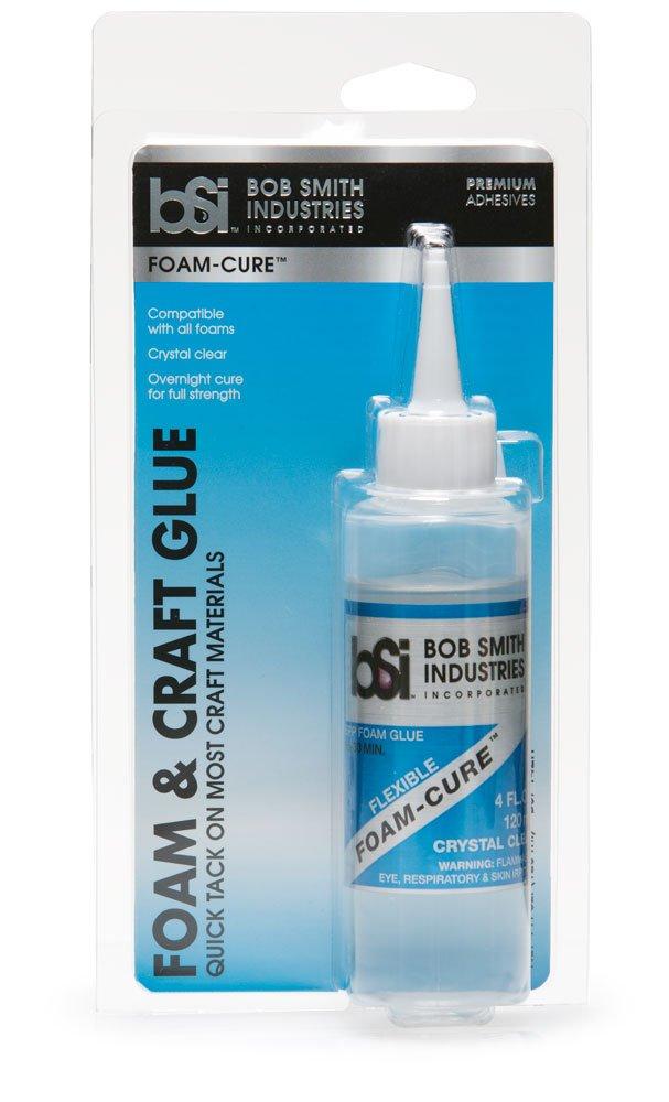 Bob Smith Industries BSI-142 Clear Foam-Cure, Craft Glue, 4 oz.
