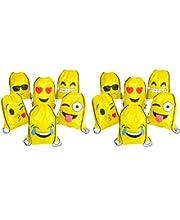 Play Kreative Emoji Emoticon Drawstring Tote Bags Backpacks 12 Pack TM