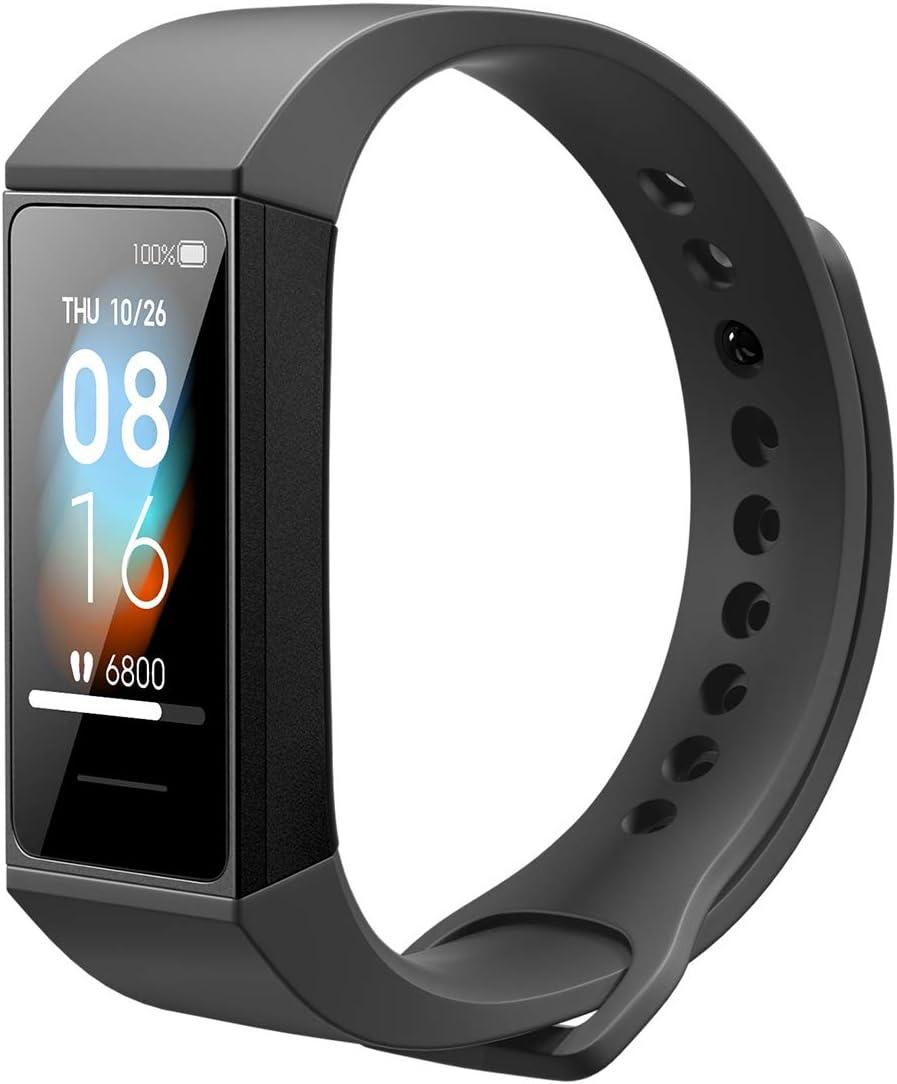 Xiaomi Mi Band 4C Reloj Inteligente Pulsera de Fitness hasta 14 días Duración de la Batería 5 ATM Resistente al Agua Negro