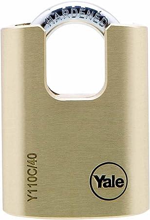 Yale Locks YALY12150 Cerrojo 50 mm, lat/ón