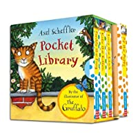 Axel Scheffler Little Library for Little Hands by the Illustrator of The Gruffalo