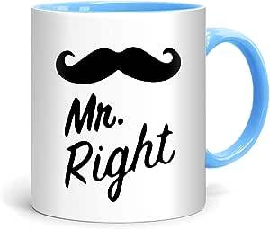 FMstyles - Mr. Right Design Mug - FMS53-MrLB