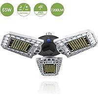 Marvee 65W LED Waterproof Deformable Dusk Garage Lights