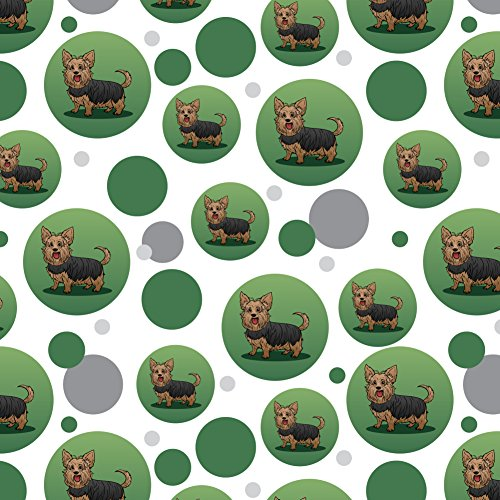 GRAPHICS & MORE Yorkshire Terrier Yorkie with Tongue Out Premium Gift Wrap Wrapping Paper Roll