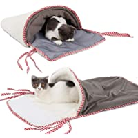 YA- TUBE Warm House Winter Iron Cage Cat Sack Anti-Cold Pet Bed Sleeping Bag for Cat