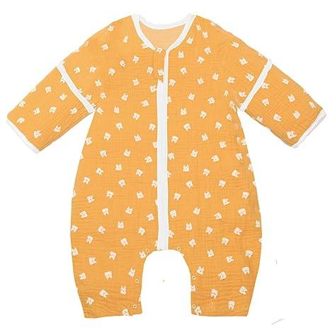 dfc8a8a9a6d5c Gigoteuse Bébé Sac de Couchage Enfant Combinaison avec Pieds Fille Garçon  Dors Bien été Chemises de