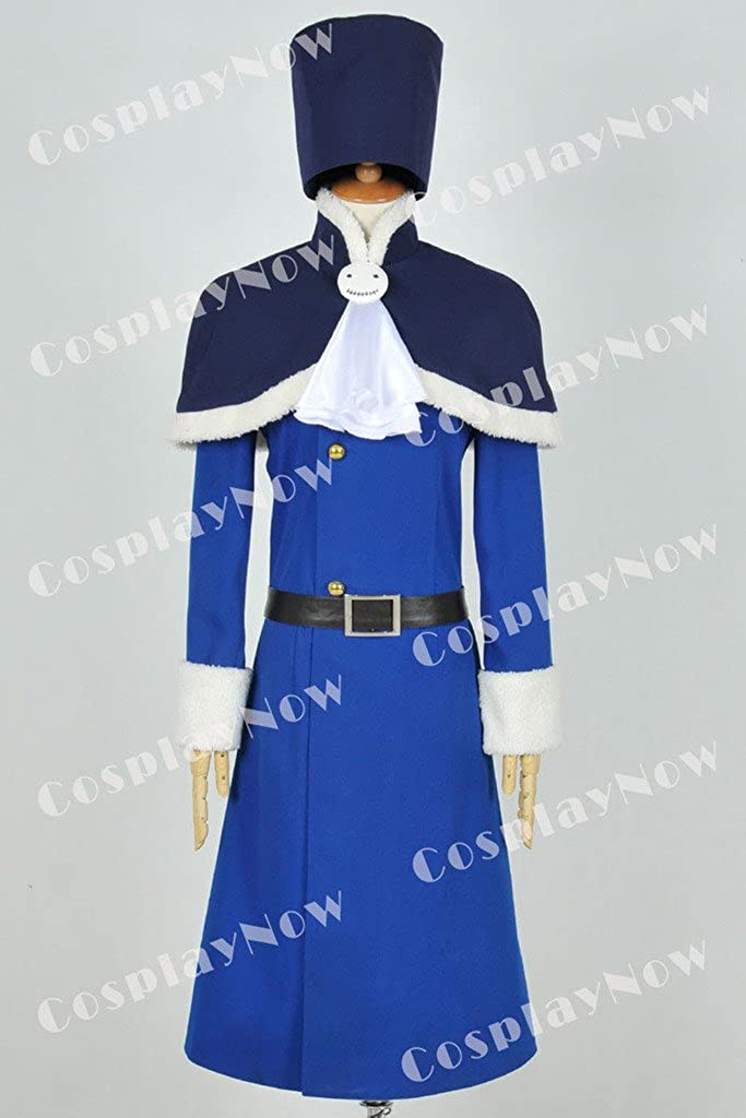 Fairy Tail Juvia Loxar 2nd Cosplay Costume Free shipping