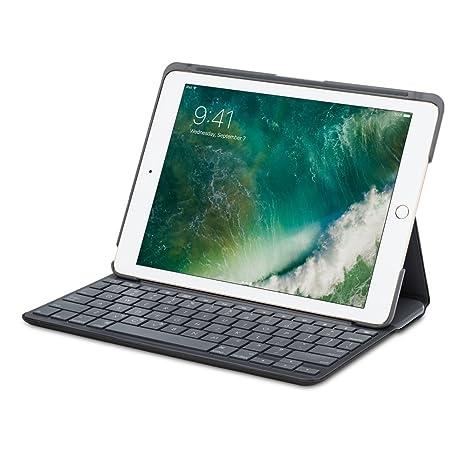 77aa0c97261 Amazon.com: Logitech Canvas Keyboard Case for iPad Air 1 - Black (Renewed):  Computers & Accessories