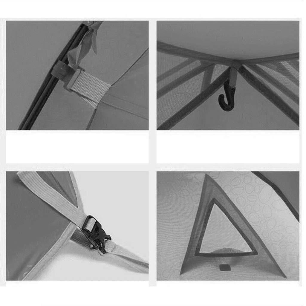 ZL-Zelte 4 Personen Zelt wasserdicht, feuchtigkeitsfest, Schädlingsbekämpfung im Freien Freien Freien (Farbe   A) B07KNN9V4F Tunnelzelte In hohem Grade geschätzt und weit Grünrautes herein und heraus 4d8279