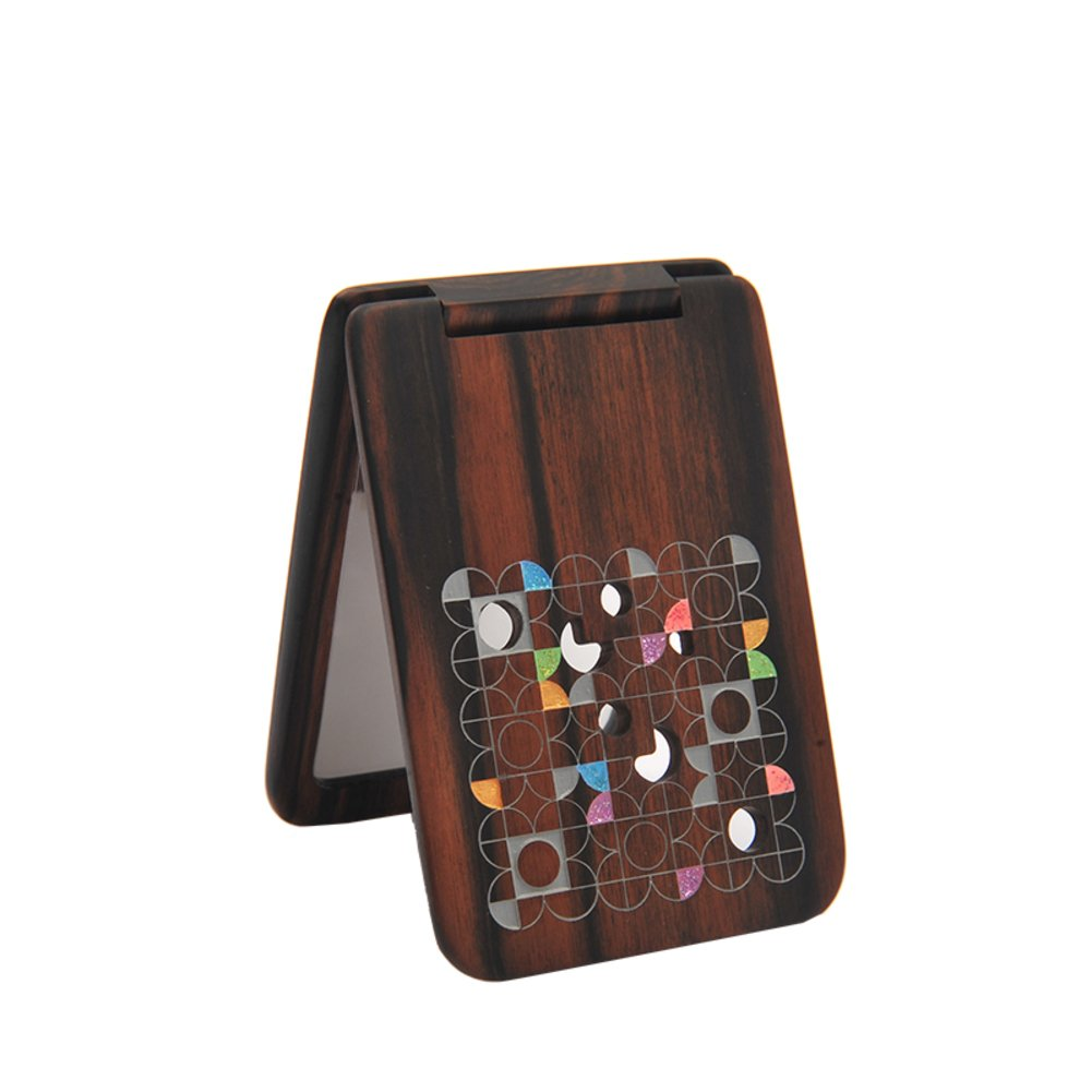 MYITIAN gift box lacquer mirror window wood mirror creative gift Send girl send girlfriends gifts-A