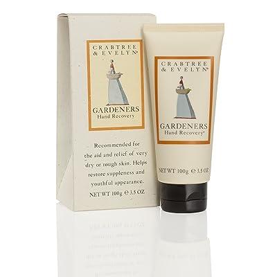 Crabtree & Evelyn - Jardineros - Crema de manos exfoliante, hidratante y acondicionadora - 100g