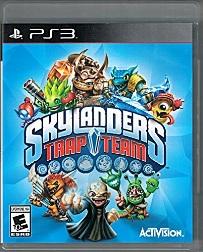 Skylanders Trap Team REPLACEMENT GAME ONLY for PS3 (Skylander Red Trap)