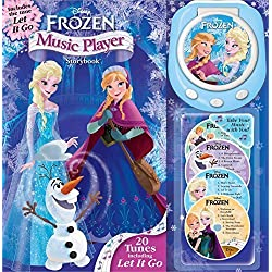 Disney Frozen Music Player Storybook -With 4 Audio CDs