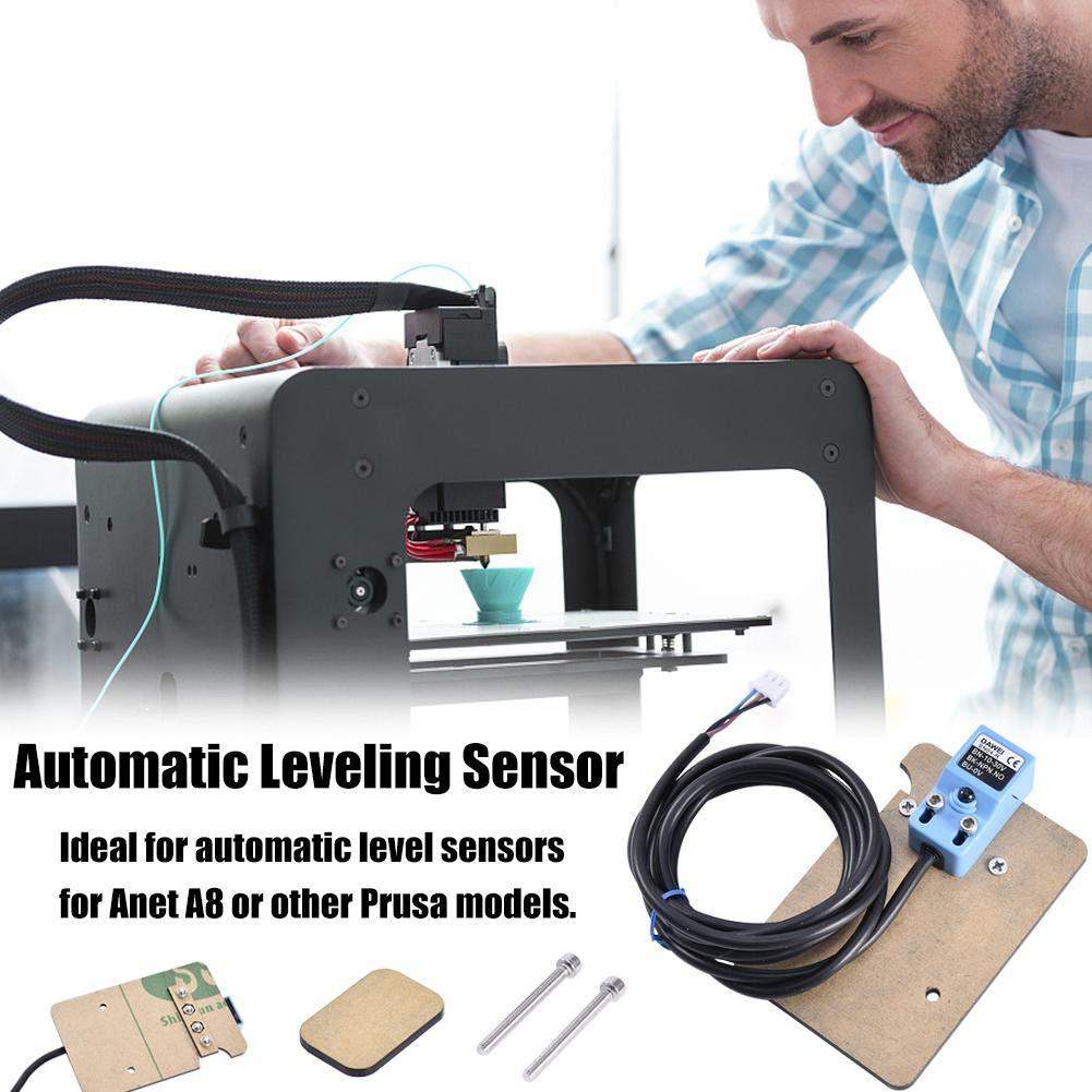 Merryode Sensor Automatic Leveling Sensor 3D Printer Accessories Auto Leveling Kit Auto Leveling Sensor Automatic Leveling Sensor Mounting Plate Black by AA-fashion (Image #1)